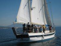 Grupo en el velero