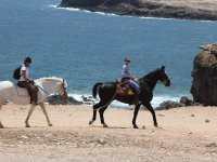Riding on the Canarian coast