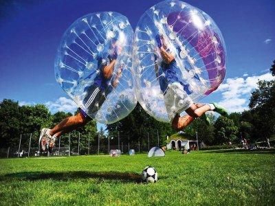 Bubble football game in Moraña 1 hour
