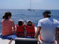 With the kids sailing