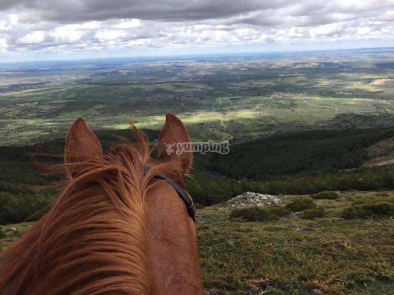 Buitrago de Lozoya骑马