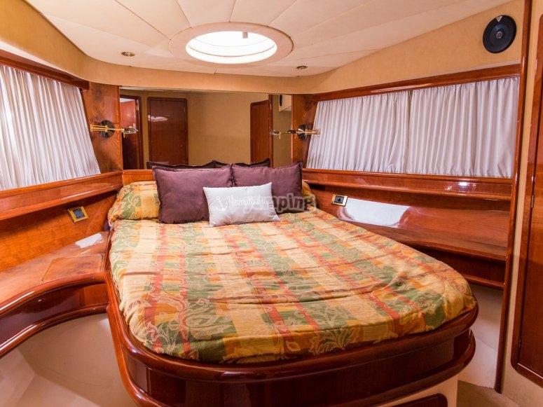 Cabina sulla barca