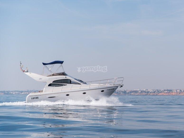 Alquila tu barco con patrón en Torrevieja