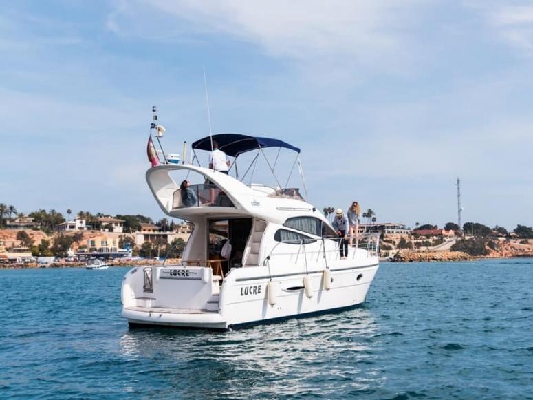 Reunión familiar náutica en Alicante