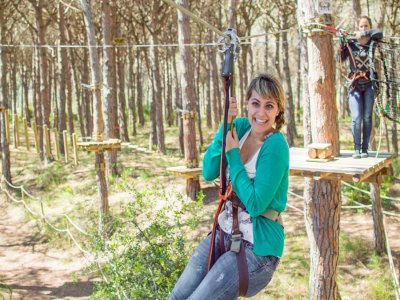 Parc d'Aventura El bosc dels impossibles Team Building