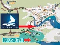 Plano Mallorca en barco
