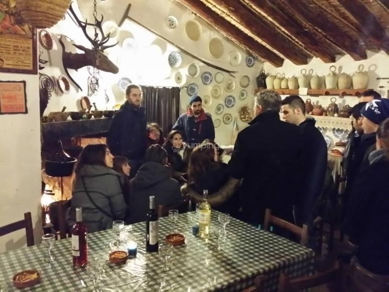 Haciendo catas de vinos valencianos