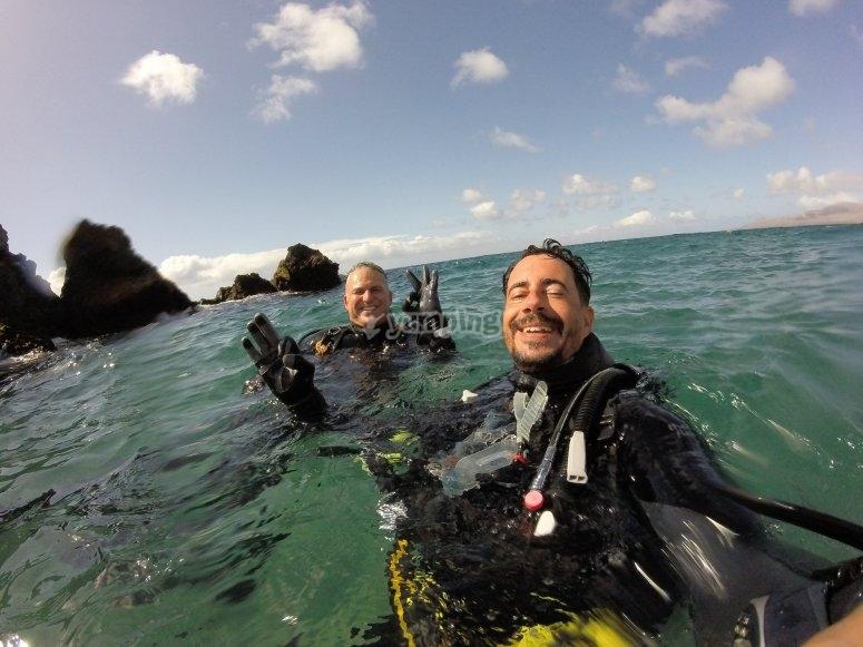 潜水Playa Chica