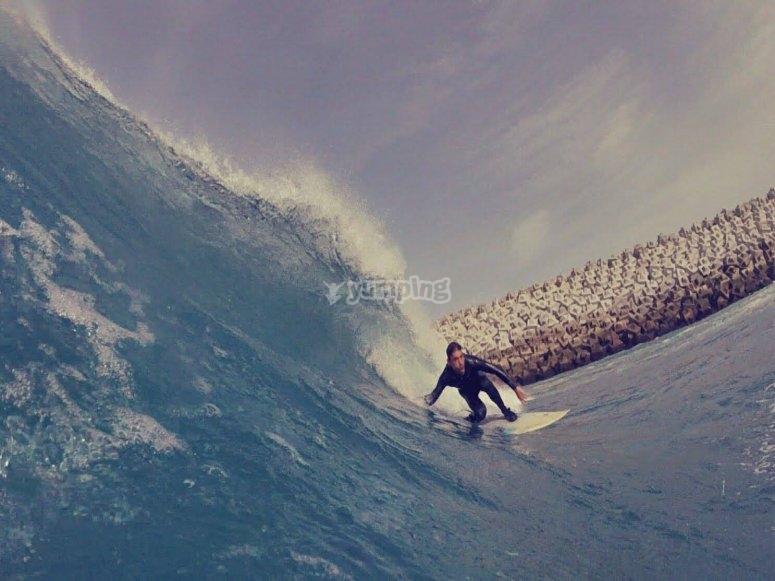 Aspira a convertirte en un surfero experto
