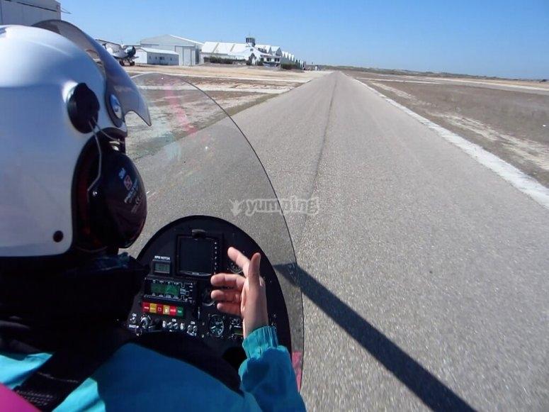 Vuelo en autogiro desde Navalcarnero