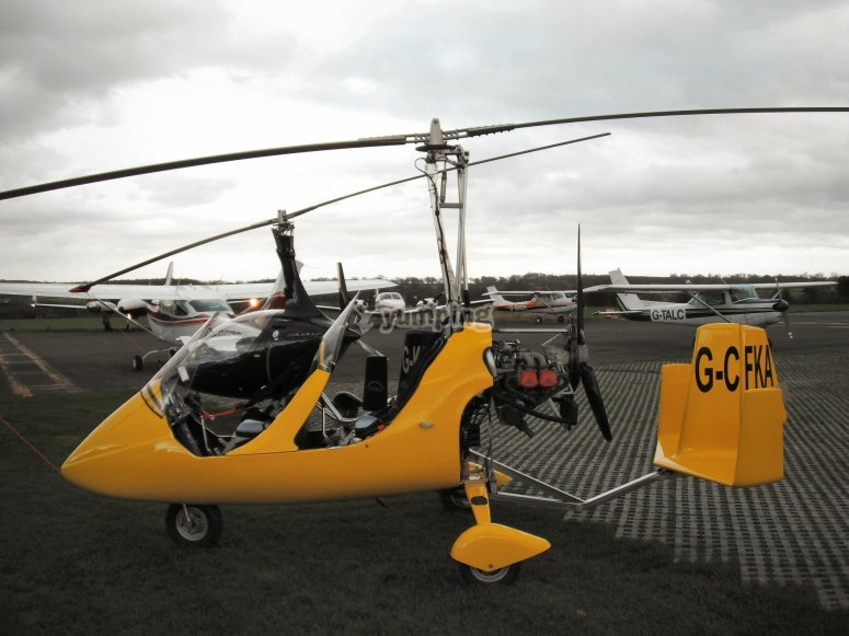 Autogiro flight experience
