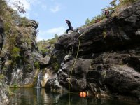 Canyoning down the Cerves River