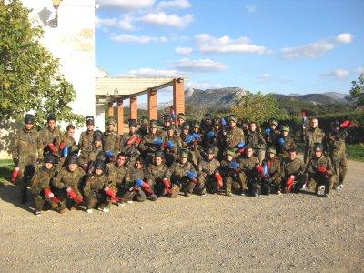 Paintball Antequera Team Building