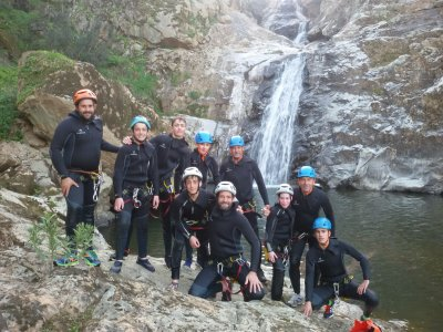 Canyoning in Calzadillas bachelor party 4h
