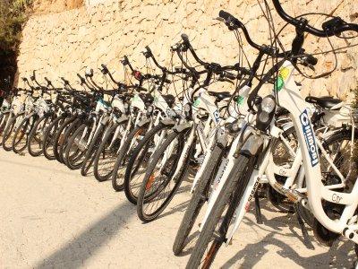 1 giorno di noleggio bici elettriche a Benidorm