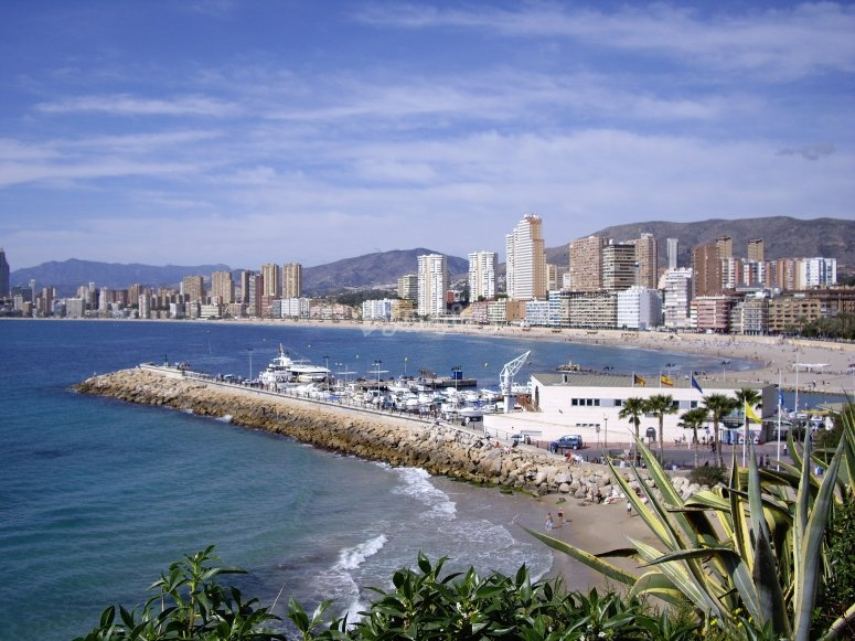 Bike ride in Benidorm