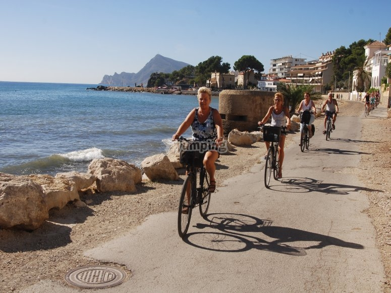 Bike rental in Benidorm