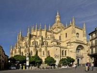 从城堡的成就一步马德里1 2016塞戈维亚塞戈维亚塞戈维亚大教堂中心