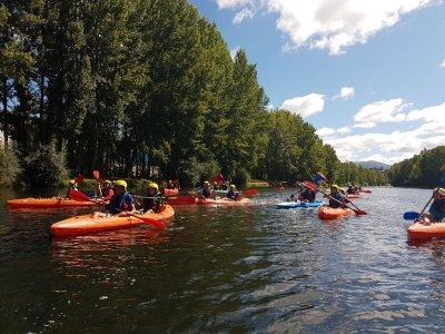 Descenso en kayak por el río Sil 3 horas