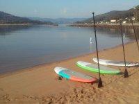 Sup e paddle board