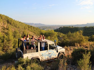 Conduce un 4x4 jeep safari y Fuentes del Algar
