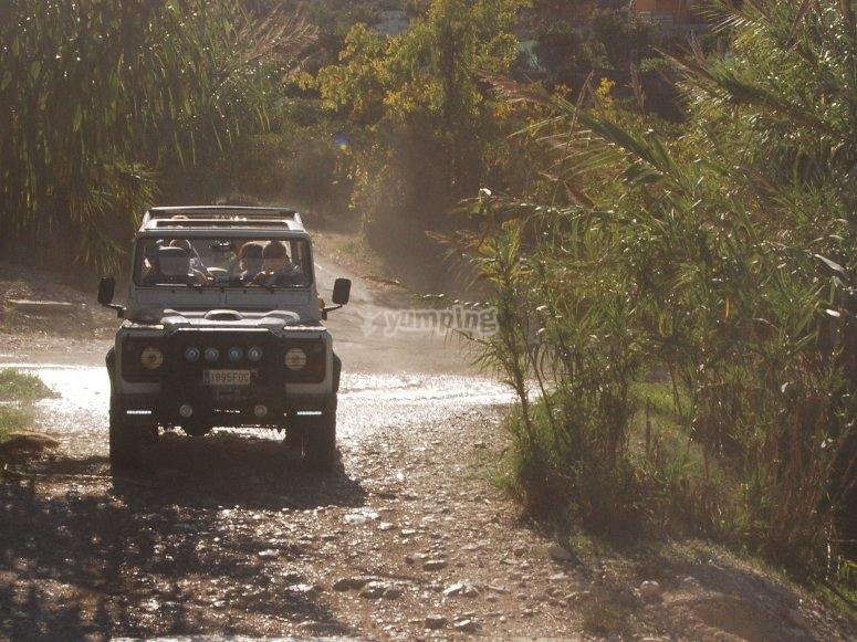 Escursione in jeep Sierra de Aitana