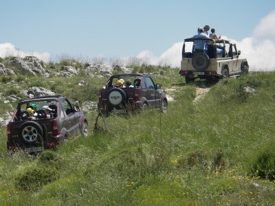 4x4 route through Sierra de Aitana 4 hours