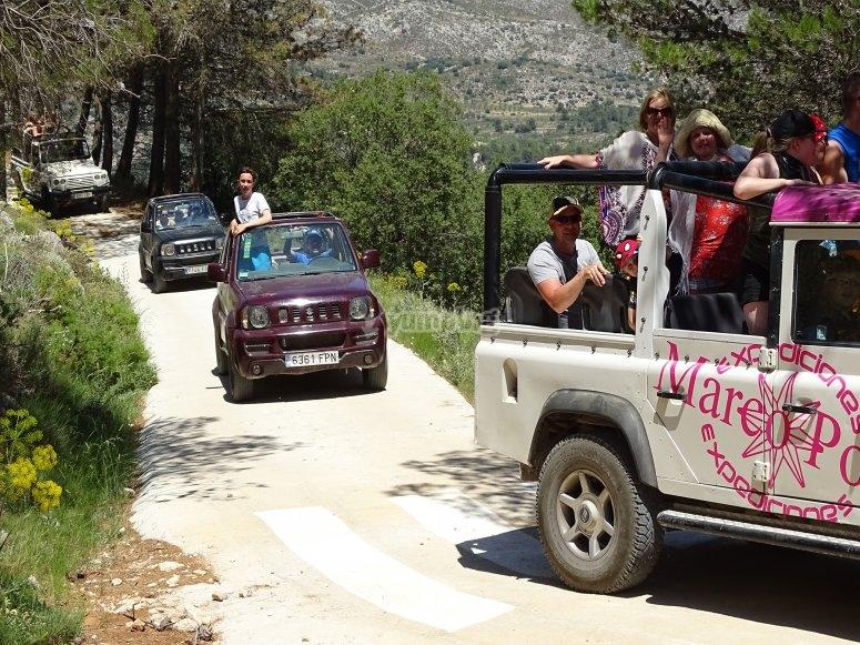 Ruta en 4x4 por Sierra de Aitana