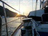 船上的日出