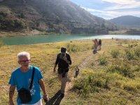 Hiking trail through the Amadorio reservoir 3h