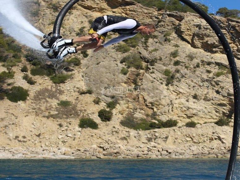 Flyboard e seabob a Ibiza