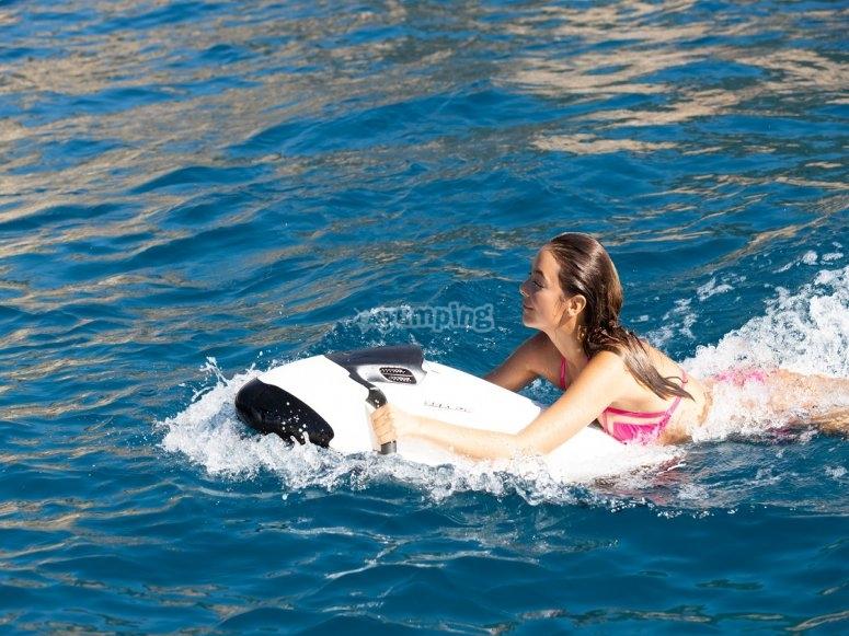Seabob a Ibiza