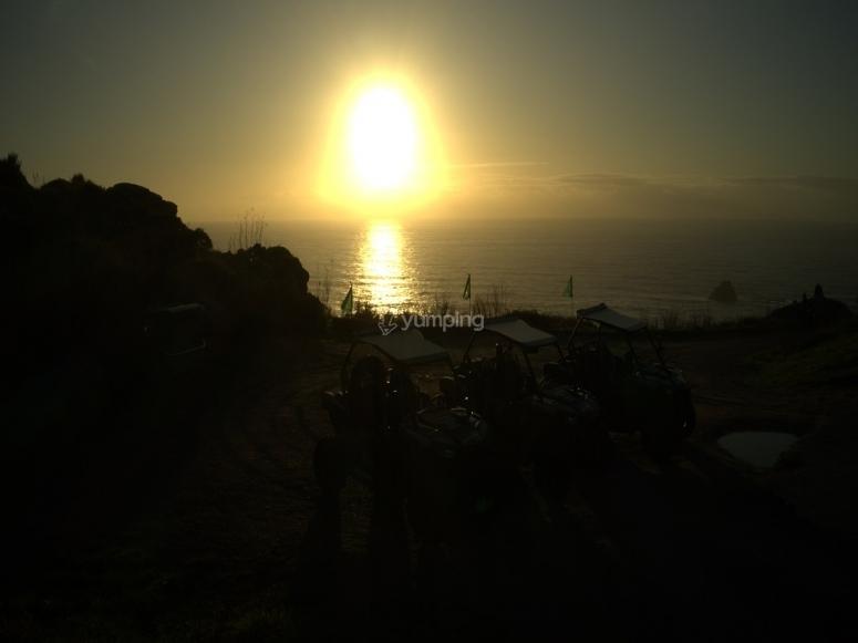 Salida en buggy al atardecer Costa da Morte