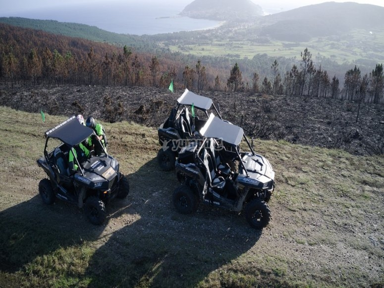 Buggy route along Fisterra trails