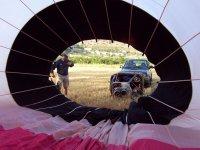montando el globo