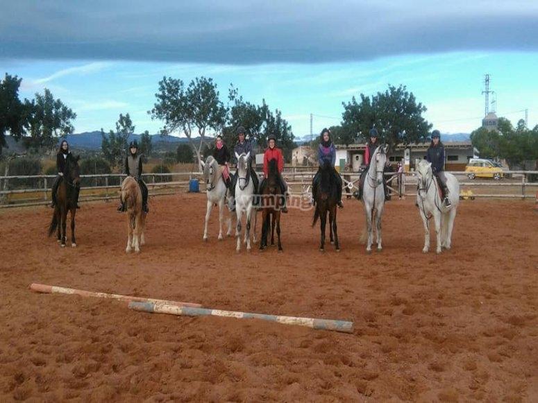 未成年人骑马课程 Castellón