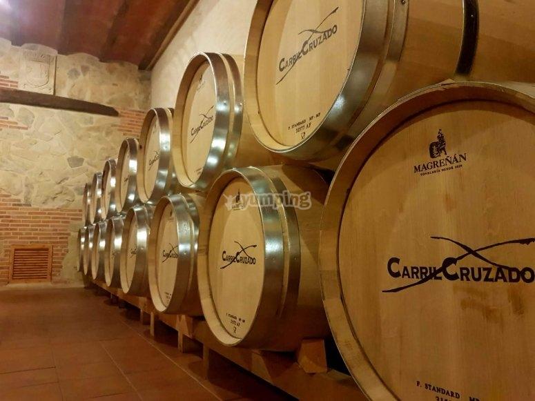 Villagarcía winery tour del Llano