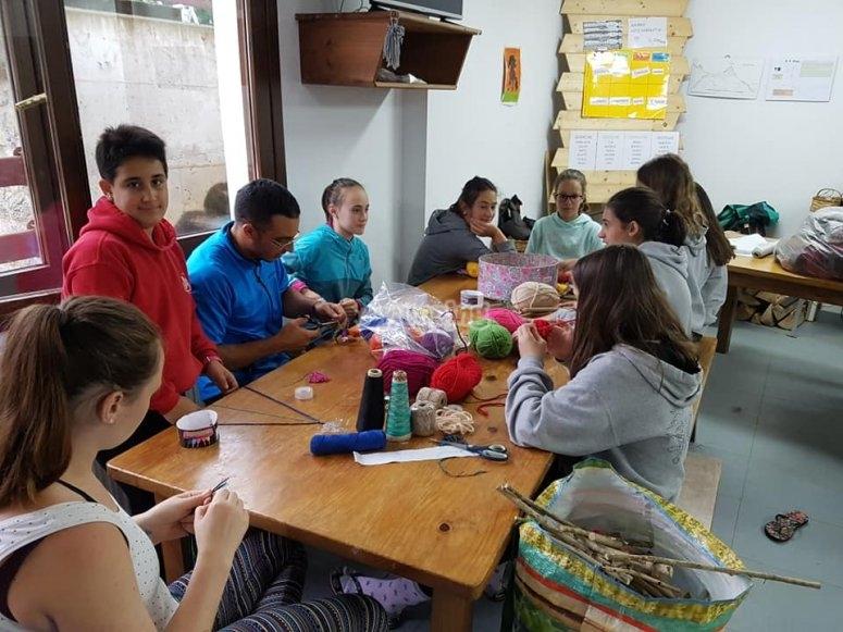 Laboratori di artigianato a Lastur