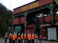 visita exterior mina Asturias