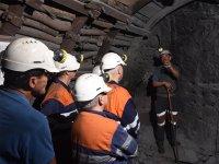 visita guiada mina asturiana