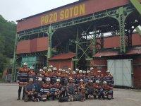 visita interior mina Asturias