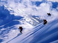 内华达山脉滑雪场