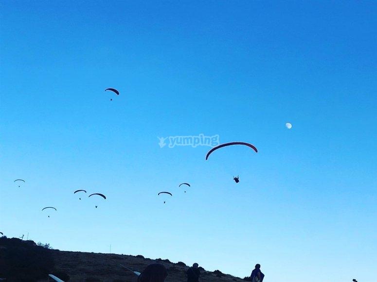 莱里达滑翔伞