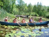 加拿大独木舟