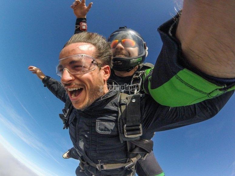 巴塞罗那跳伞