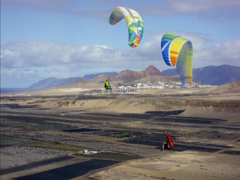 滑翔伞飞行员