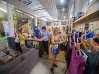 Ceteria and climbing shop
