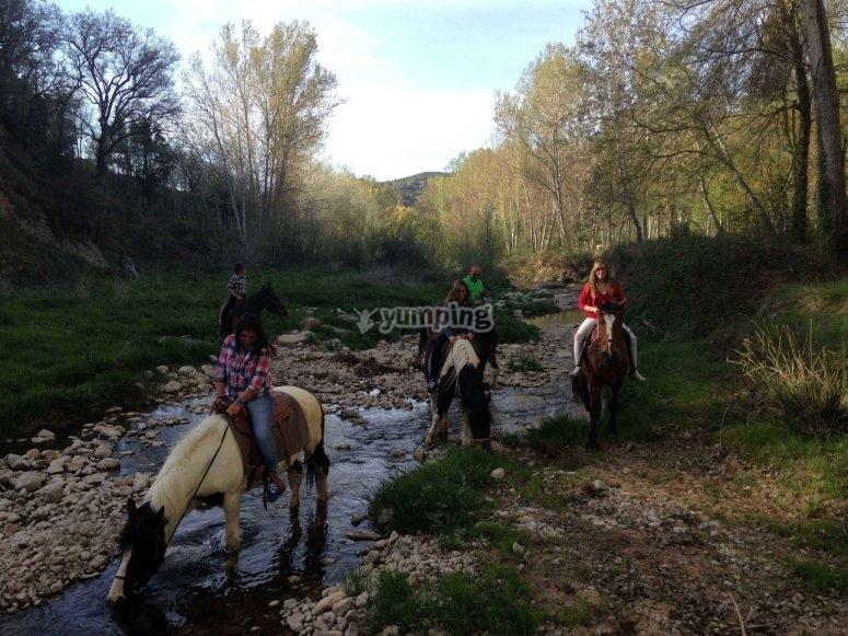 Tour a caballo y alojamiento en Morella