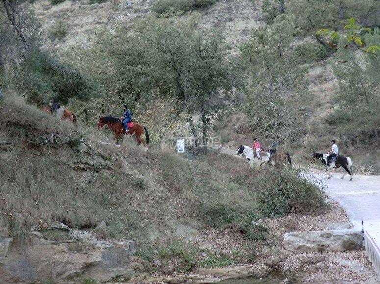 Excursión a caballo para 4 en Morella