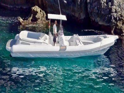 Paseo en barco con capitán Puerto de Andratx 4 h